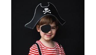 chapeau anniversaire pirate