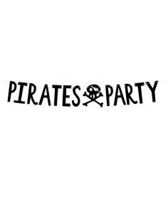 banderole anniversaire pirate