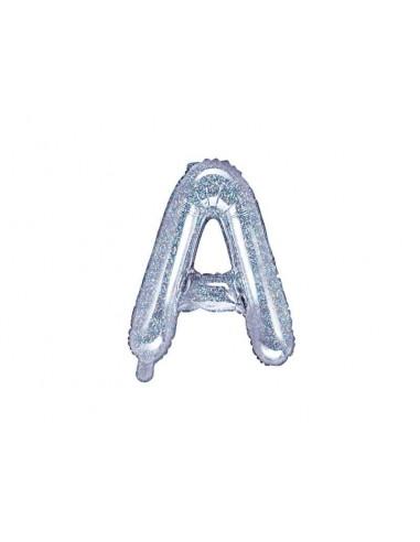 ballon lettre holographique A