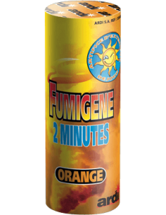 fumigene orange 2 minutes