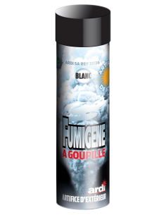 fumigene a goupille blanc
