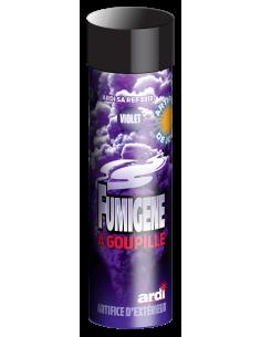 fumigène goupille violet