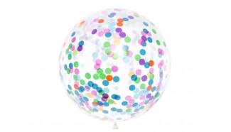 ballon géant confettis