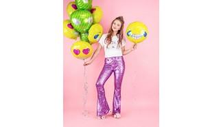 ballon smiley aluminium