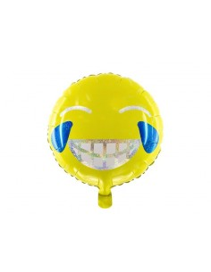 ballon helium smiley