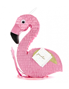 piñata flamant-rose