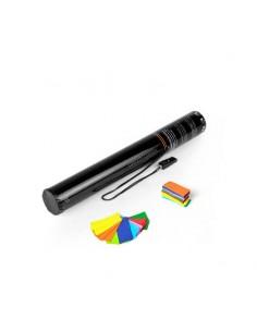 canon electrique confettis multicolore