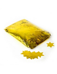 confettis etoile or
