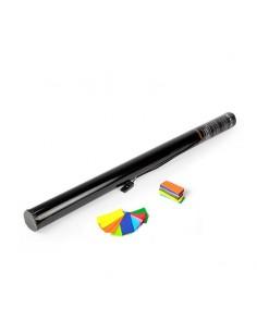 canon à confettis électrique multicolore