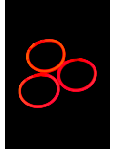 bracelet fluo rouge