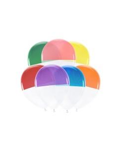 ballon baudruche bicolore