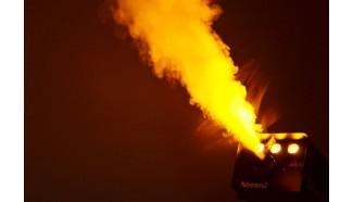 machine à fumee effet flamme