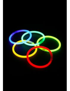 bracelets lumineux colorés