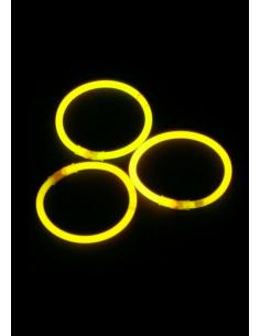 Bracelet lumineux jaune
