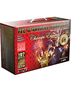 feu d'artifice portable