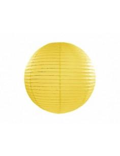 lanterne chinoise jaune 20 cm