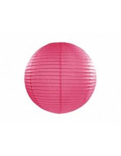 lanterne chinoise rose foncé 25 cm