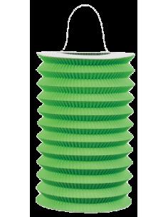 lampion papier vert