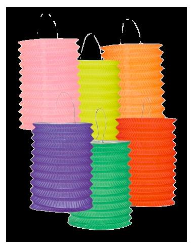lot de lampions colorés