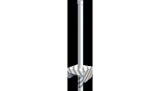 torche de feu blanche