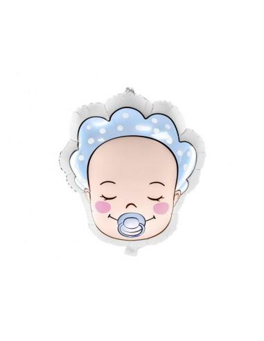 Ballon aluminium bébé garçon