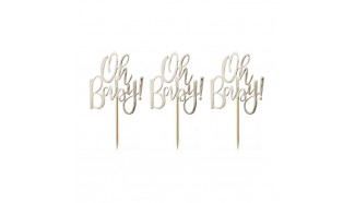 cupcake topper baby shower