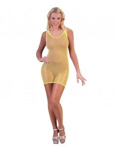 robe jaune fluo