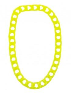 collier fluo jaune