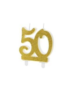 bougie anniversaire 50 ans