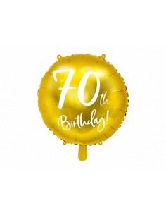 ballon d'anniversaire 70 ans