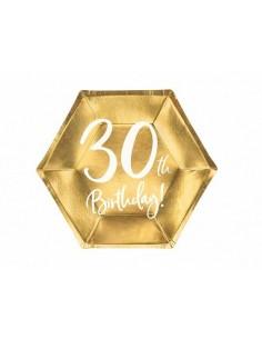 assiette en carton 30 ans