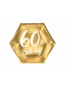 assiette en carton 60 ans