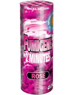 fumigene pot rose 2 minute