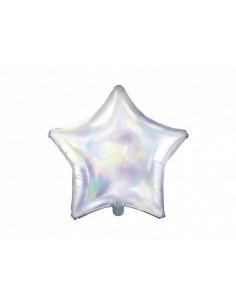 ballon étoile holographique