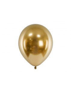 ballon de baudruche dorée