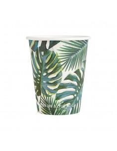 gobelet en carton tropical
