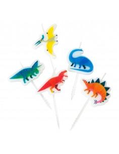 bougie dinosaure