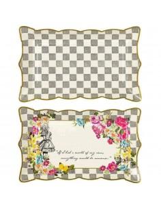 plateau en carton Alice au pays des merveilles