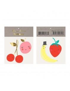 tatouage temporaire fruit
