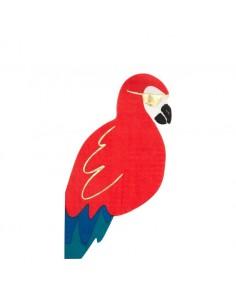 serviette papier perroquet