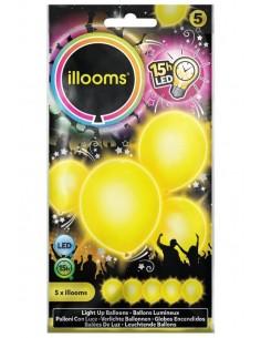ballon lumineux jaune