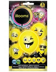 ballon lumineux emoji