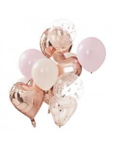 ballon rose gold