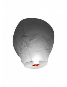lanterne volante grise