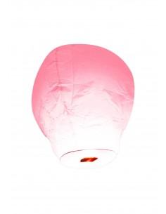 lanterne volante rose pale