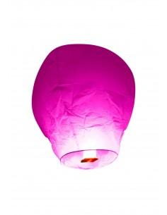 Lanterne volante fuchsia