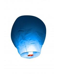 lanterne volante turquoise