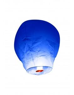 lanterne volante bleu