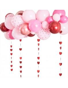 arche a ballon rose