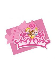 carte invitation princesse disney